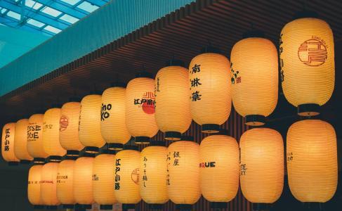 日本东京唯美灯笼