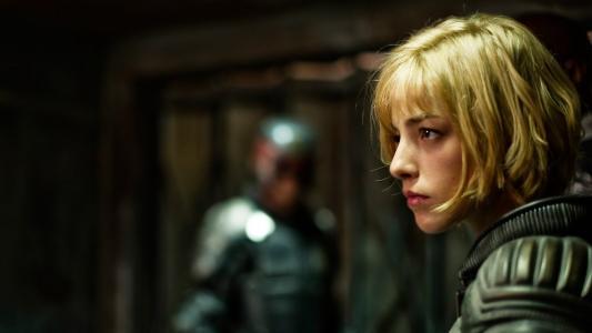 电影法官Dredd的女孩