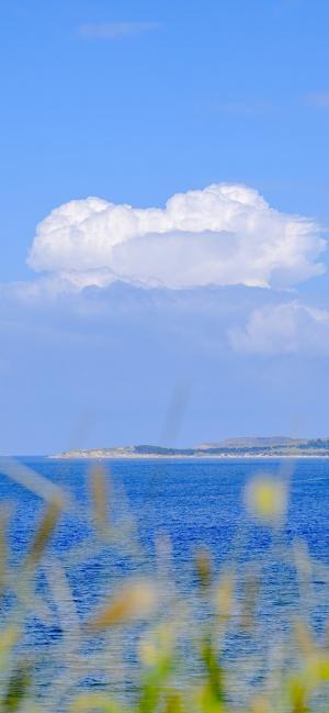 清爽海边风景