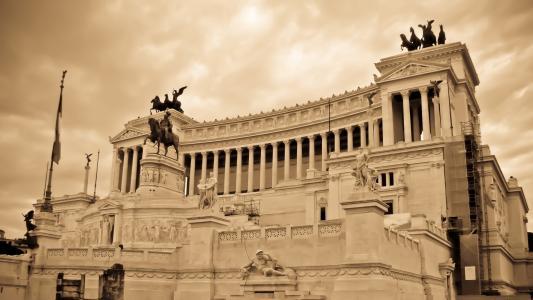 罗马古代寺庙