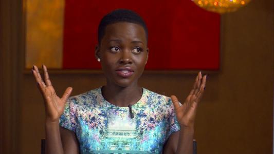 电影明星Lupita Nyongo