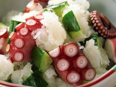 章鱼与米饭的触角