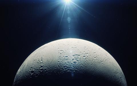 土卫二是土星的月亮