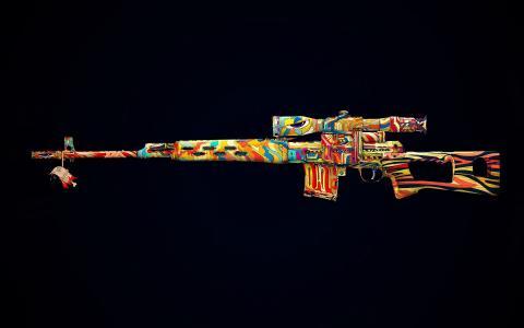 时髦的狙击步枪