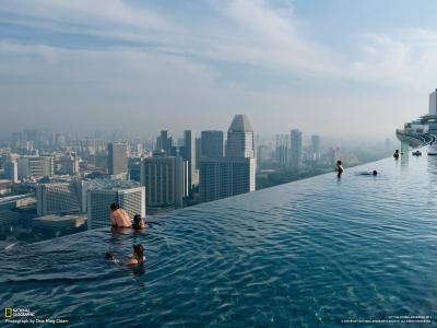 新加坡的游泳池