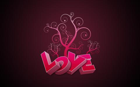 粉红色的爱