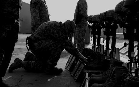 记住死亡的士兵
