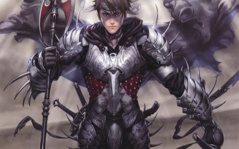 战士的盔甲和武器