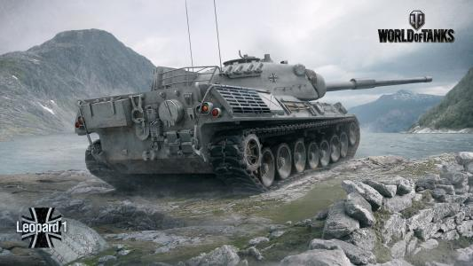 坦克豹1在游戏世界的坦克