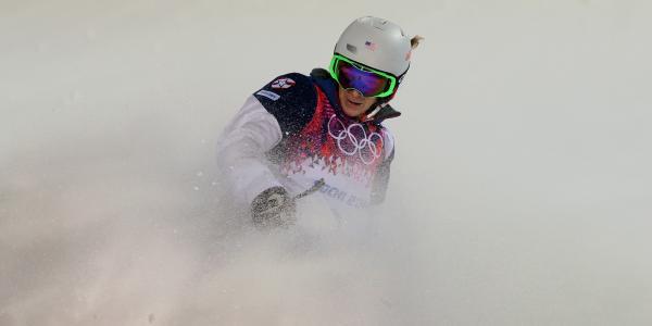 美国自由职业者汉纳·科尔尼(Hanna Kearney)在索契获得了一枚铜牌
