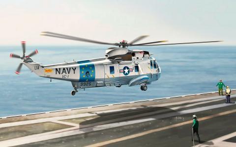 直升机海军西科斯基SH-3海王