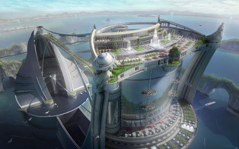 在迪拜建设项目