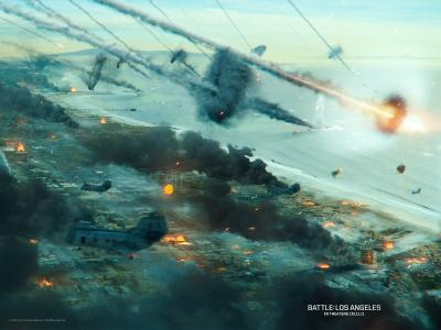外星人入侵:洛杉矶之战,电影2011