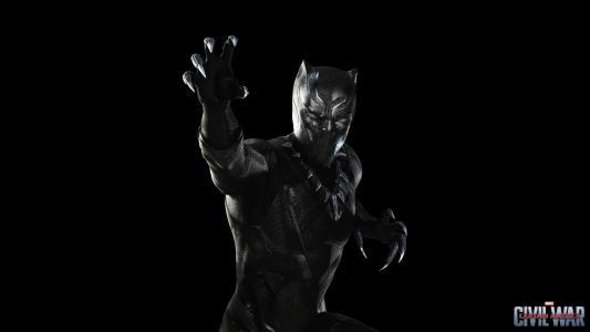 超级英雄黑豹电影第一复仇者对抗