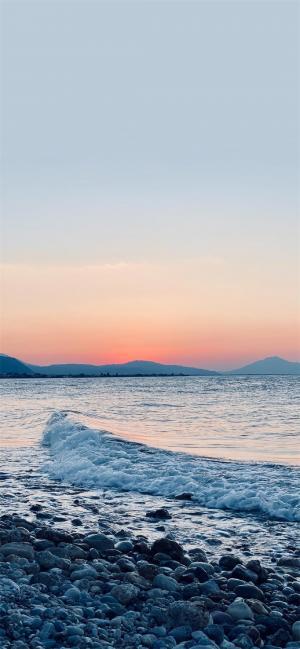 海边夕阳摄影风光