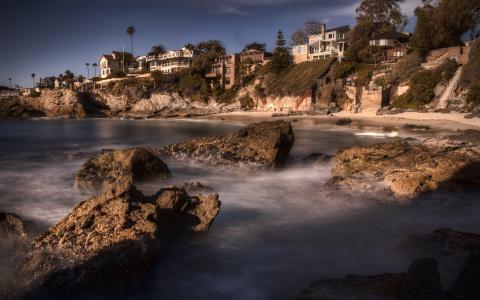 美国,加利福尼亚州,洛杉矶,拉古纳海滩