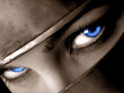 蓝色的眼睛