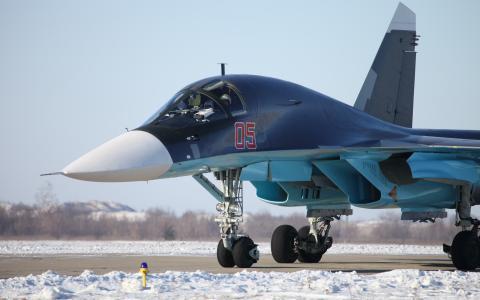 轰炸机苏-34