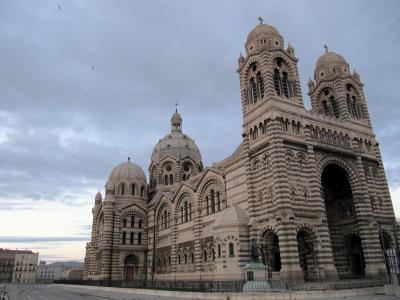大教堂在法国马赛