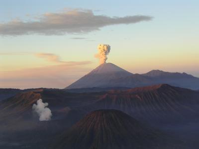 印度尼西亚Mahameru火山