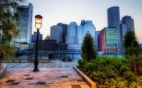 公园,波士顿