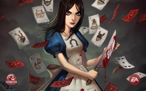 美国人麦基的爱丽丝游戏的主角