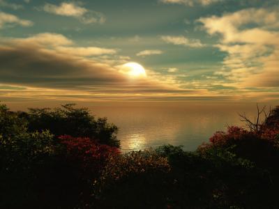 伟大的日落