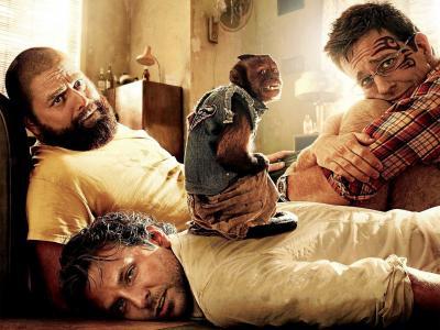 演员和电影中的猴子