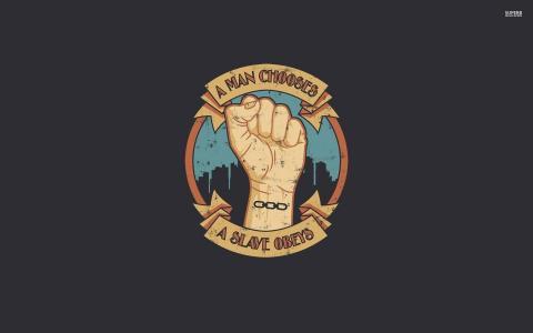 男人选择 - 奴隶提交