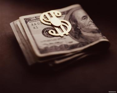 美元的发夹