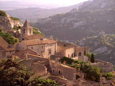 Les Baux的村庄