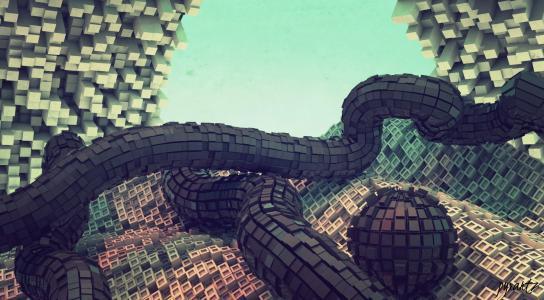像素的立方结构