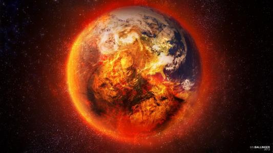 这个星球着火了