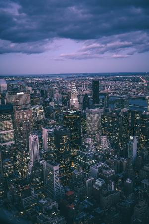 都市夜景微信背景