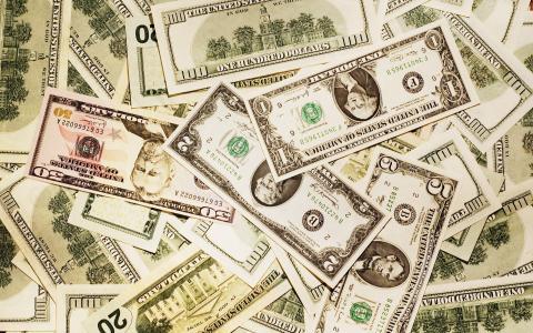 美元的不同面值