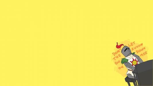 黑暗的灵魂游戏,黄色背景