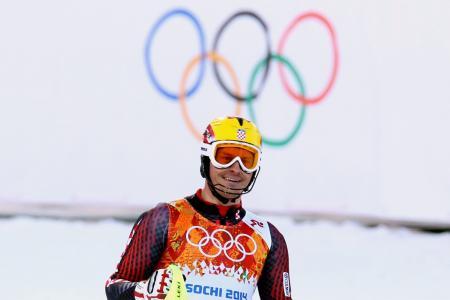 伊维察Kostelic克罗地亚滑雪者