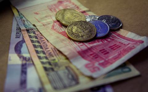 菲律宾的纸币和硬币