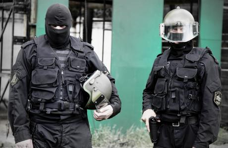 两名特种部队士兵