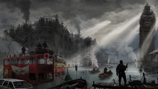后世界末日伦敦