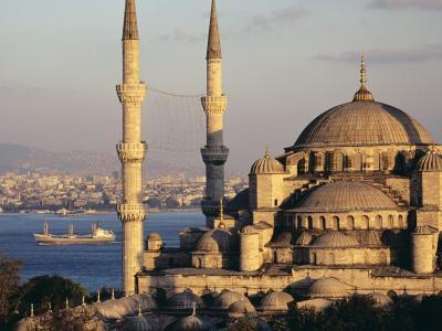 古建筑在伊斯坦布尔