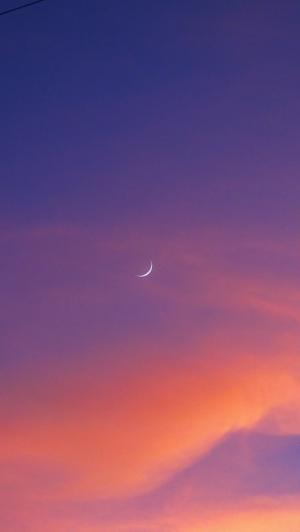 唯美天空晚霞美景