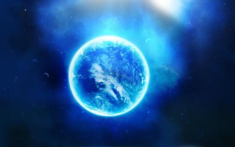 发光的星球