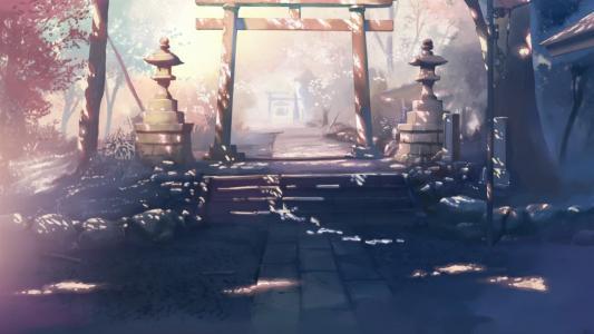 动画花园入口每秒五厘米
