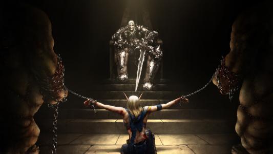 魔兽世界,阿尔萨斯,巫妖王,赛博朋克