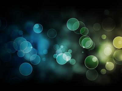 绿色和蓝色的鬼魂