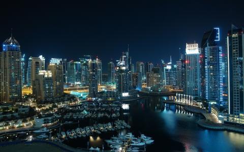 令人愉快的迪拜城市