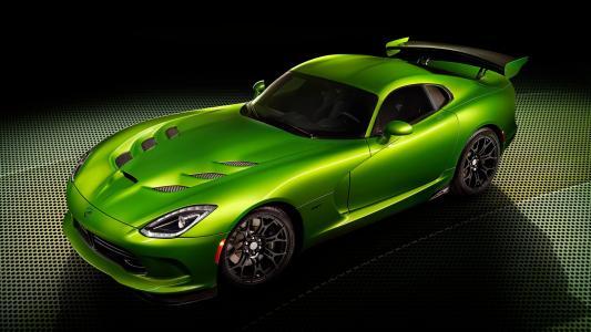 绿色SRT毒蛇