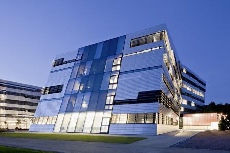 美丽的建筑在奥地利林茨市