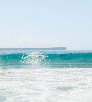 温柔的蓝色潮汐